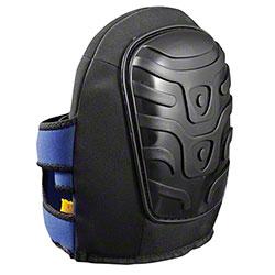 OccuNomix Premium Black Flat Hard PE Cap Gel Knee Pad
