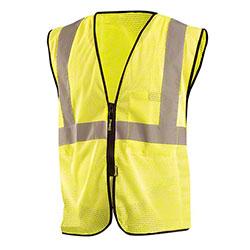 OccuNomix Value Mesh Standard Zipper Safety Vests