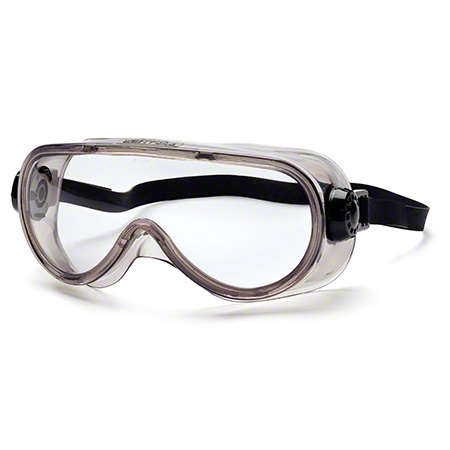 Pyramex® Clear Top Shelf Chemical Splash Goggle
