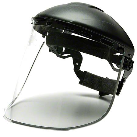 Pyramex® Aluminum Bound Polyethylene Face Shield