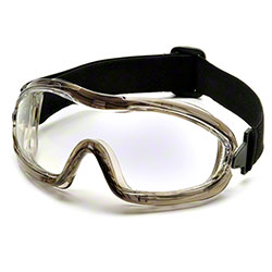 Pyramex® Low-Profile Chemical Splash Goggle w/Black Strap