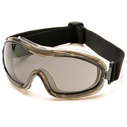 Pyramex® Low-Profile Chemical Splash Gray AF Goggle