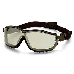 Pyramex® V2G® Glasses - Mirror Lens/Black Strap