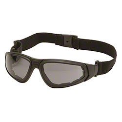 Pyramex® XSG® Glasses - Gray H2X AF/Black Frame