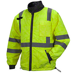 Pyramex® RJR34 Series Hi-Viz 4-in-1 Windbreaker Jackets