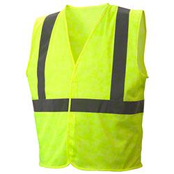 Pyramex® RVHLM29 Series Hi-Vis Lime Vests