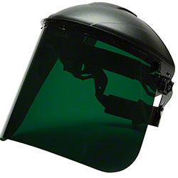 Pyramex® Dark Green Tinted Polyethylene Face Shield