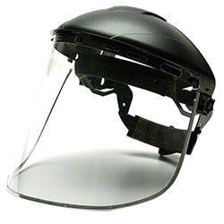 Pyramex® Aluminum Bound Polycarbonate Face Shield