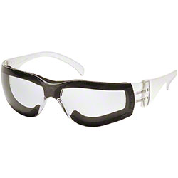 Pyramex® Intruder Safety Glasses w/Foam Padded Frame
