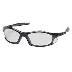 Pyramex® Solara® Glasses - Clear Lens/Black