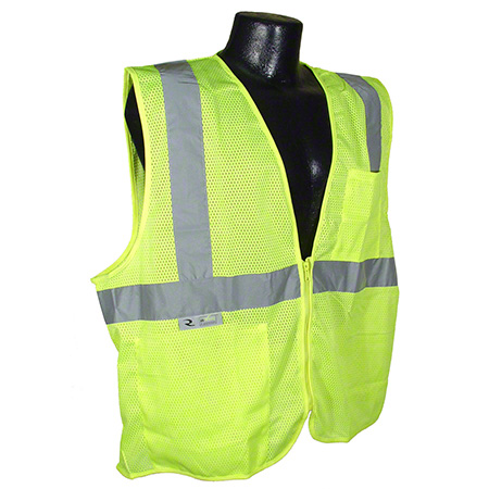 Radwear® Economy Mesh Safety Vest w/Zipper
