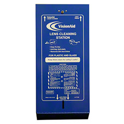 VisionAid™ Metal Lens Cleaning Dispenser w/Key