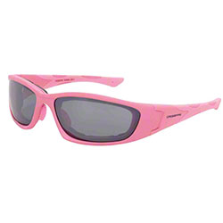Crossfire® MP7 Pink Foam Lined Safety Glasses