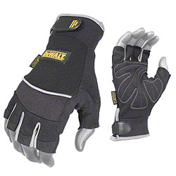 DeWalt® DPG230 Technicians Fingerless Gloves