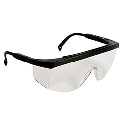 Radians® G4™ JR Safety Glasses -Black Frame, Clear Lens