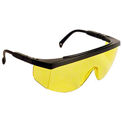 Radians® G4™ JR Safety Glasses -Black Frame, Amber Lens