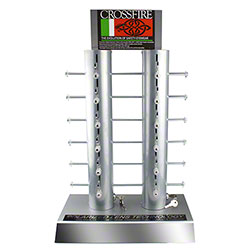 Crossfire® 12 Unit Locking Display