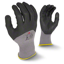 Radians® RWG12 3/4 Foam Dipped Dotted Nitrile Gloves