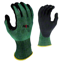 Radians® RWG538 Axis™ Nitrile Coated Glove w/PVC Dots