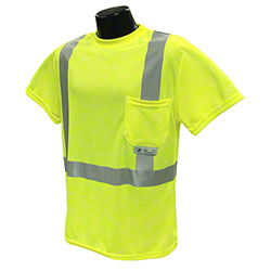 Radians® ST11 Class 2 Hi-Viz Safety T-Shirt w/Max-Dri™