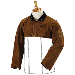 Black Stallion® Split Cowhide Welding Cape Sleeves
