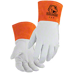 Black Stallion® Premium Kidskin TIG Glove w/DragPatch®