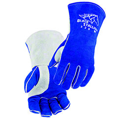 Black Stallion® Side Split Stick Glove w/CushionCore™