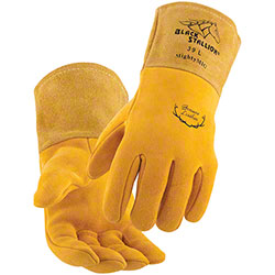 Black Stallion® MightyMIG® Premium Deerskin MIG Gloves
