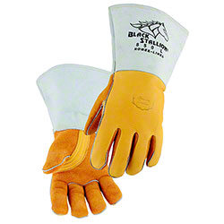 Black Stallion® Elkskin Stick Glove w/Nomex® Lined Back