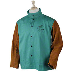 Black Stallion® FR Cotton/Cowhide Hybrid Welding Jackets
