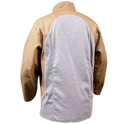 Black Stallion® Stretch-Back Tan/Gray Welding Jackets