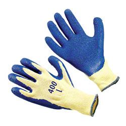 Seattle Glove Blue Latex Palm & Fingertips Gloves