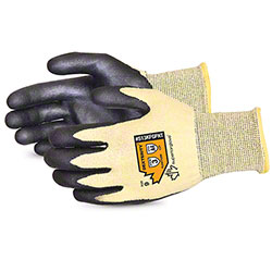 Superior Dexterity® Nitrile Pam-Coated String-Knit Gloves