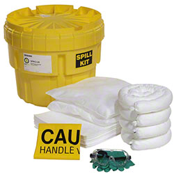 SpillTech Oil-Only 20-Gallon OverPack Salvage Drum Spill Kit