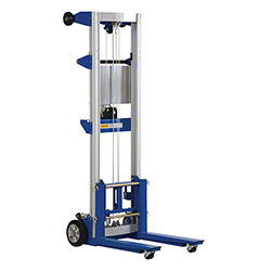 Vestil Fixed Straddle Hand Winch Lift Truck - 400 lb.