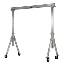 Vestil Adjustable Aluminum Gantry Crane - 10' x 10', 2000 lb