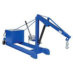 Vestil Counter Balanced Hand Pump Floor Crane - 2000 lb.