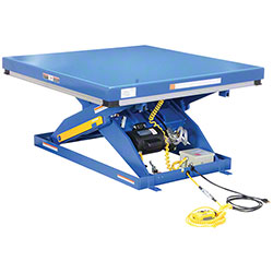 "Vestil Electric Hydraulic Scissor Lift Table - 48"" x 48"""