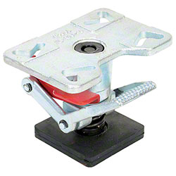 "Vestil Adjustable Height Floor Lock - 6 1/4"" to 8"""