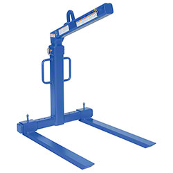 Vestil Adjustable Fork Overhead Load Lifter