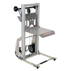 "Vestil Portable Aluminum Load Lifter - 17"" x 14"""