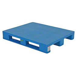 Vestil Solid Top Rackable Plastic Pallet/Skid