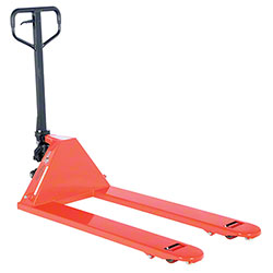 "Vestil Full Featured Pallet Truck - 27"" x 48"", 5,500 lb."