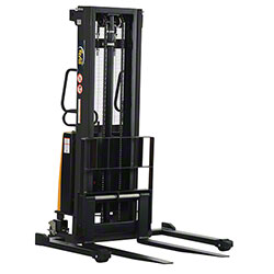 Vestil Adjustable Stacker w/Powered Lift - 118""
