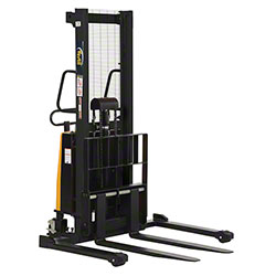 Vestil Adjustable Stacker w/Powered Lift - 63""