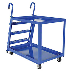 Vestil Stockpicker Truck - 2 Shelf