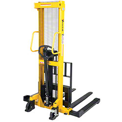 Vestil Manual Hydraulic Hand Pump Stacker