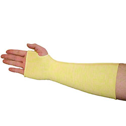 West Chester Kevlar® Single Ply Sleeves w/Thumb Hole - 12""