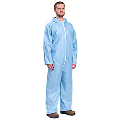 West Chester Blue Posiwear Self-Extinguishing Coverall