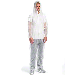 West Chester Standard Weight SBP Coverall w/Hood & Boot